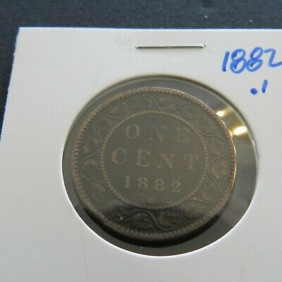 Canadian Large Pennies Lot 2: 1882H.