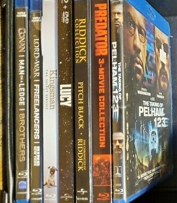 Movies Video DVD Blu-Ray Disc Lot Sale $3- $5 Each Pick your Movie