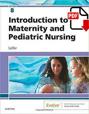 Introduction to Maternity and Pediatric Nursing ✅ P.D.F ✅ book