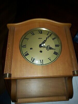 Vintage Linden ? Pendulum Wood  Wall Clock  *MADE IN GERMANY