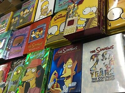 The Simpsons DVD Box Set Season 1-20 CHOOSE WHAT YOU NEED !