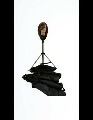 Paul Mitchell Cosmetology Mannequin Head Tripod Genuine With Case