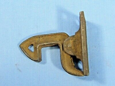 "Vintage Antique Iron Barn Door Gate Latch  1 1/2"" x 3""  Unique"