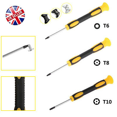 T6 T8 T10 Torx Star Magnetic Security Opening Screwdriver Xbox One 360 PS4