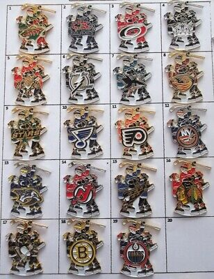 Different Teams Nhl Hockey Celebration Players Logo Pin (Your Choice) # G852