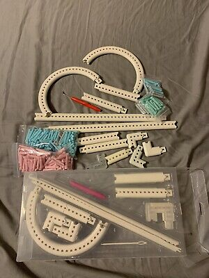 Martha Stewart Crafts Knit & Weave Loom Kit With Extra Pieces