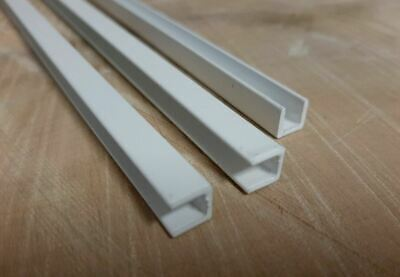 ALUMINIUM U CHANNEL U SECTION Extruded U Channel White RAL 9016