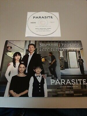 Parasite - Movie Promo Booklet & Cd Best Song - Fyc Promo - Beautiful