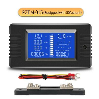 PZEM-015 200v 50A Battery Discharge Tester Capacity Power Energy Impedance