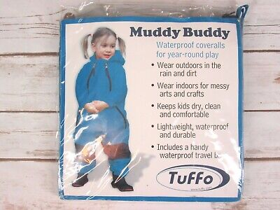 60 Months TUFFO Muddy Buddy Rain Suit Red