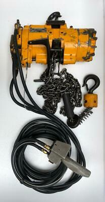 Ingersoll Rand Ml500K-2C10-C6U Pneumatic Air Chain Hoist 500 Kgs 12 Ft. Chain (2