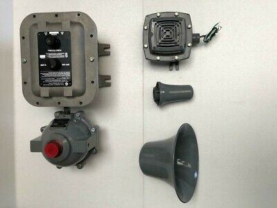 Gai-Tronics 400-001 Rigcom Intercom With Explosion Proof Custodia Horn &