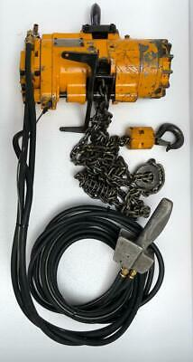 Ingersoll Rand Ml500K-2C10-C6U Pneumatic Air Chain Hoist 500 Kgs 12 Ft. Chain