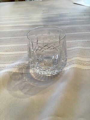 Waterford Lismore Tumbler Roly Poly 9-oz Crystal NEW W/O TAGS Old Fashion