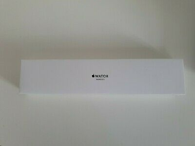 APPLE Watch Series 3 - Space Grey & Black Sports Band, 38 mm Nearly New