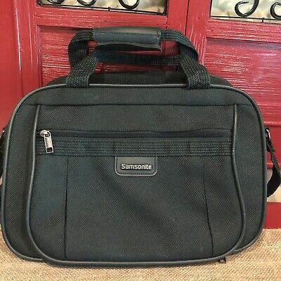 Samsonite Classic Business Laptop Bag Notebook carrying case Used Emerald Green