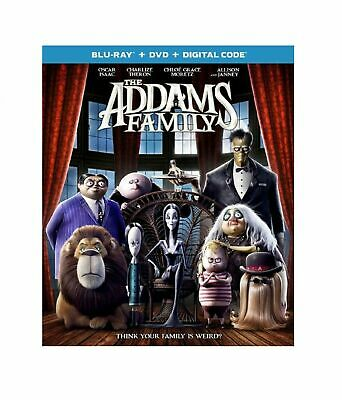 The Addams Family (Blu-ray Disc, 2020, 2-Disc Set) Like New