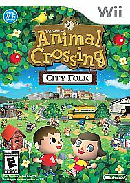 Animal Crossing: City Folk Nintendo Wii, 2008 complete