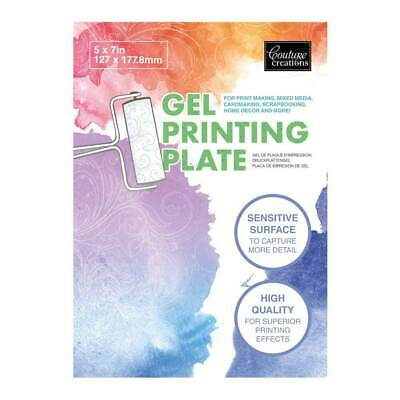 Couture Creations Gel Printing Plate (5 x 7in)
