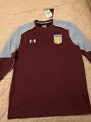 Aston Villa Under Armour Longsleeve Football Shirt