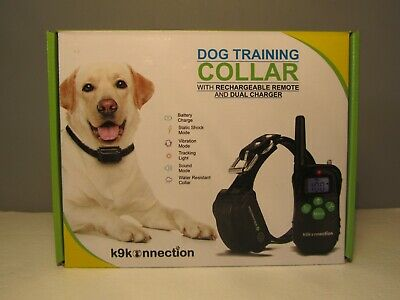 Dog Training Collar K9Konnection with Rechargable Remote