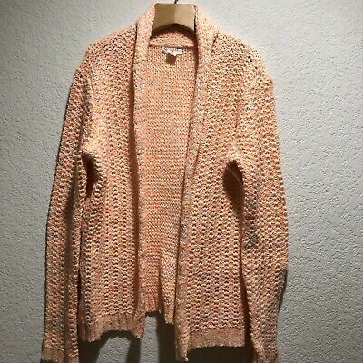 4//5 B4 Cat /& Jack Girls/' Open front Cardigan Sweater With Hood Pink Size