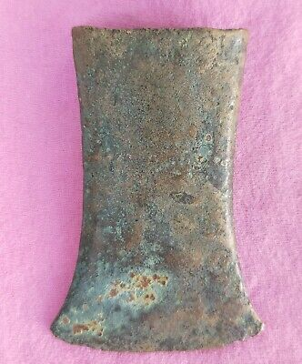 Large Socket  Adze 3.2 inch LAOS Bronze+Brass  Plain of Jars Medieval [pp75]