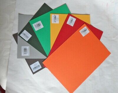Canford Art and Craft Card.. 7xA4 sheets. New. All different colours.