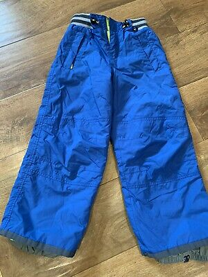Mini Boden Boys Girls Waterproof Ski Trousers Salopettes,Age 5-6 EXC C