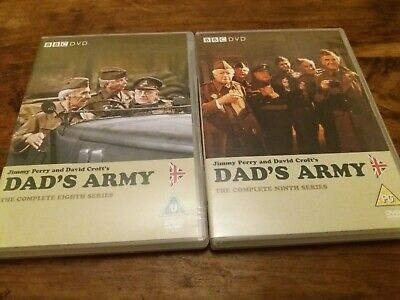 Dads Army Complete Eighth & Ninth Series Season 8 & 9 Eight Nine UK R2 DVD Mint