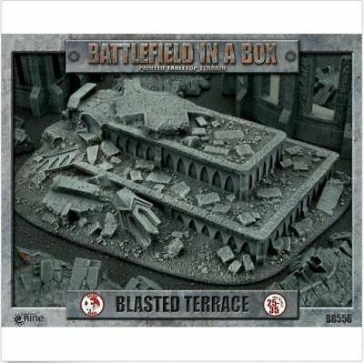 Gothic Ruins: Blasted Terrace Battlefield in a Box New