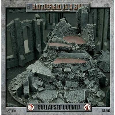 Gothic Ruins: Collapsed Corner Battlefield in a Box New