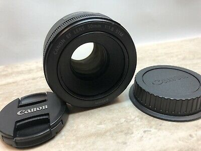 Canon EF 50mm f/1.8 STM Lens - Mint!