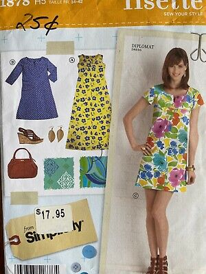 2063 Little Lisette Childs Dress 3-8 Simplicity Pattern 0409