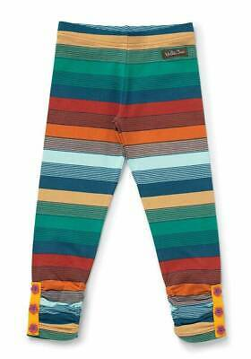Matilda Jane Girls Outside The Lines Striped Leggings Pants Size 10 NWT