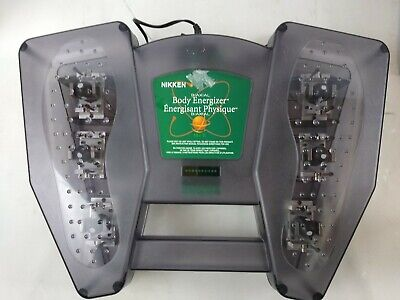 NIKKEN BIAXIAL BODY ENERGIZER 120V AC ADAPTER TESTED. WORKS. b5
