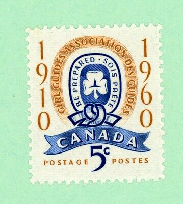 Canada 1 stamp, SC 389, 50th Anniv of Girl Guides ,1960,  MNH
