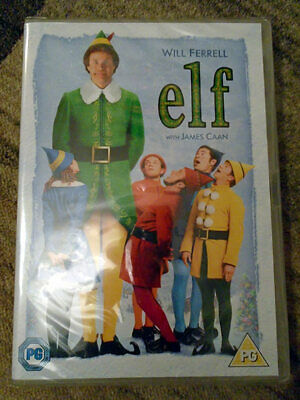 Elf (2005) - Christmas Comedy (Will Ferrell) - DVD - Region 2 - New & Sealed