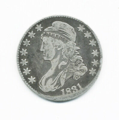 1831 Us Capped Bust Silver Half Dollar