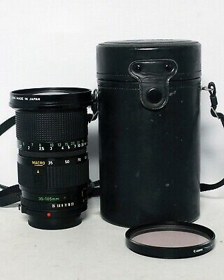 Canon FD 35-105mm 1:3.5 Macro Manual Focus 35mm SLR Film Zoom Lens