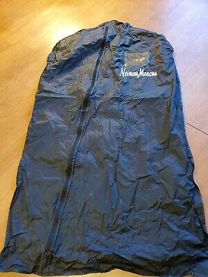 NEIMAN MARCUS Logo Zipper Garment Suit Dress Travel Storage Bag Carrier 42x24