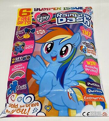 My LITTLE PONY MAGAZINE #18 With 6 FAB GIFTS! BUMPER ISSUE! (NEW)