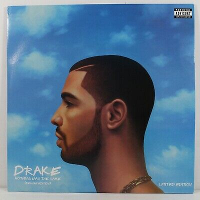 """Drake - Nothing Was The Same [2LP] Limited Baby Blue Vinyl 12"""" Record 33RPM"""