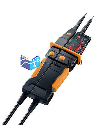 Testo 750-2 Voltage Tester 0590 7502 Clear, Patented All-Round LED Display