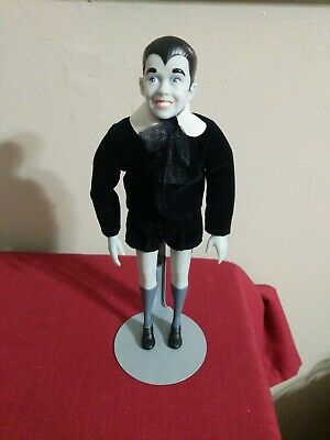 "The Munsters Eddie Munster 9"" Doll Presents Hamilton Gifts 1964 Kayro Vue /Stand"