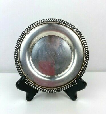 Stanley Home Products National Silverplate Wine Coaster Plate