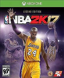 NBA 2K17: Legend Edition (Microsoft Xbox One) complete. Tested!!