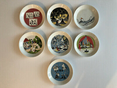Moomin Collectors Plates Dish Bowl Kitchen Set Made in Japan F//S