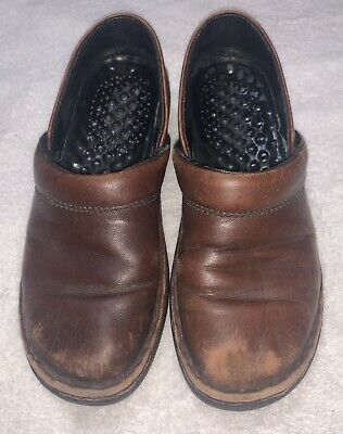 Nice Comfy josef seibel Womens/Ladies Shoes Brown Leather Mules Size EU 38 US 7