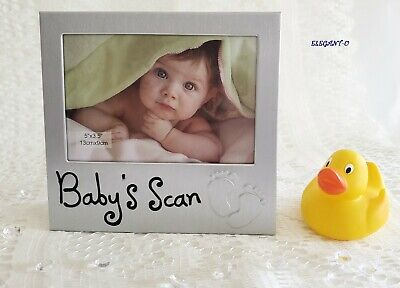 ~*~Baby's Scan Ultrasound Photo Frame GREAT GIFT For Baby Shower~*~Keepsake